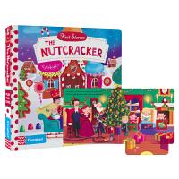 First Stories BUSY 系列纸板书 童话故事篇 The Nutcracker 胡桃夹子操作活动书 启蒙1-