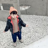 №【2019新款】冬天穿的儿童装棉衣冬装中长款男童女童羽绒小童外套宝宝棉袄