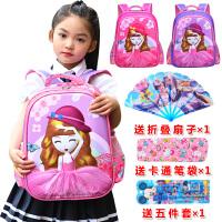 幼儿园书包女童宝宝大小班1-2-3-5周岁儿童公主卡通可爱双肩背包4