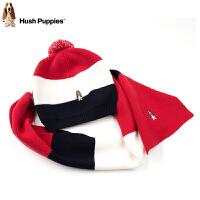 【3折价:105元】暇步士童装新款秋冬毛线帽子女童时尚围巾保暖两件套