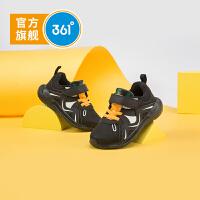【折后�B券�A估�r:57.4】361度童鞋男童跑鞋小童2020年冬季新品�和��\�有�休�e皮面潮鞋