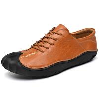 男鞋网红 户外登山鞋男鞋真皮轻便防水防滑耐磨行山运动徒步鞋