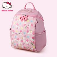 Hello Kitty凯蒂猫 KT1072粉红 幼儿园书包女3-5岁幼儿书包护脊减负双肩小书包 当当自营