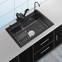 JOOMUWN纳米水槽单槽厨房洗菜盆304不锈钢手工槽家用洗碗池套餐