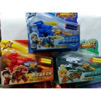 星兽猎人 装备对战弹射机器人 发射软弹枪神兽枪