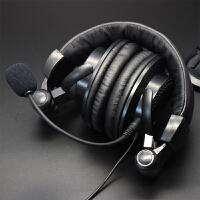 全民K歌手机录歌耳麦头戴大耳罩台式笔记本电脑单孔游戏语音