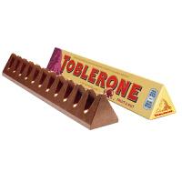 Toblerone瑞士三角 亿滋进口 巧克力含葡萄干及蜂蜜巴旦木糖100g (瑞士进口) 休闲零食