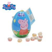 小猪佩奇 Peppa Pig 粉红猪小妹儿童小零食玩具 惊奇蛋果汁软糖10g 图案*×1