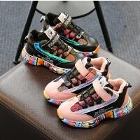 女童运动鞋女童鞋秋冬季中大童男孩棉鞋儿童鞋子