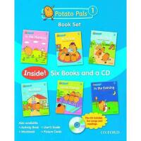 【预订】Potato Pals 1: Book Set [With CD (Audio)]