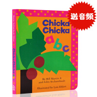 正品原装进口英文原版 Chicka Chicka ABC 名家推荐读物 纸板书 低幼儿童英语字母初级启蒙乐趣味读本 廖彩
