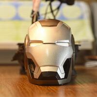 卡通钢铁侠蓝牙音箱创意礼品机器人收音机重低音炮无线插卡小音响