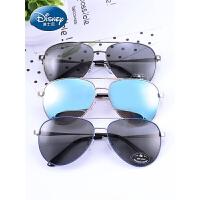 迪士尼眼镜儿童太阳镜 防紫外线墨镜宝宝偏光镜韩版男童蛤蟆镜潮