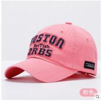 帽子女棒球帽韩版时尚太阳帽户外运动帽子时尚遮阳帽休闲帽鸭舌帽