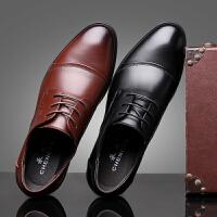 承发 正装皮鞋男士商务休闲时尚耐磨鞋子男 3665