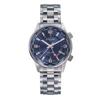 瑞士迪沃斯(DAVOSA)-Gentleman 绅士系列 Vireo商务精英 16348045 双时区 石英男士手表