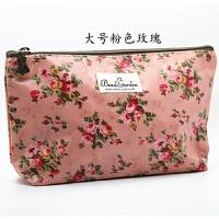 韩国进口优雅小中大号便携大容量化妆包收纳包洗漱包整理包