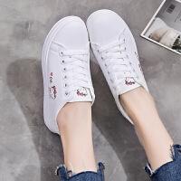 小学生女孩9春季白色休闲鞋10中大童11儿童运动球鞋12小白鞋板鞋