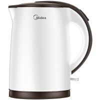 Midea美的电水壶TM1502b 1.5升不锈钢烧水壶