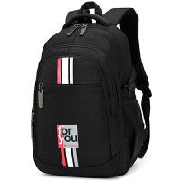 大容量男士双肩包高中学生书包初中生大学生时尚潮流旅行背包