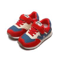 童鞋男童鞋子秋男童鞋儿童加绒运动鞋女童棉鞋