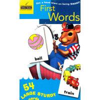 First Words (Little Golden Book) 单词大卡(金色童书)9780307249579