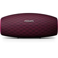 飞利浦(PHILIPS)BT6900P 音乐小号角 防水蓝牙音箱 户外便携迷你音响 电脑桌面布艺低音炮 免提通话 紫色
