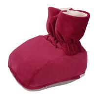 暖脚宝充电鞋电暖鞋女加热毛绒热水袋暖脚垫插电暖脚板办公室暖脚