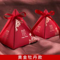 【好货优选】结婚用的糖盒结婚用品抖音喜婚礼糖果盒礼盒喜子创意中风喜糖袋