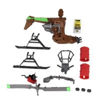 忍者神龟2手办玩具 莱昂纳多战车 男孩模型公仔套装