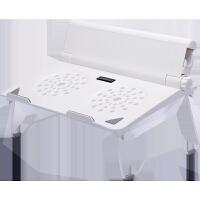 笔记本支架颈椎桌面增高垫办公室手提电脑支架升降懒人便携托架底座苹果Mac散热器立式架子可折叠简约