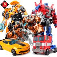变形玩具金刚5 大黄蜂擎天侠恐龙组合机器人儿童变形玩具模型