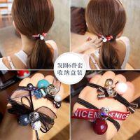 头绳女韩国网红ins橡皮筋发绳扎头发头饰发圈简约个性成人发饰品