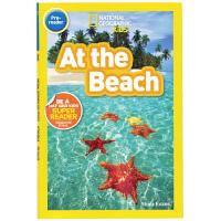 英文原版绘本 National Geographic Kids pre-Readers:At the Beach 国家