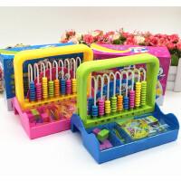 银河星8218 学具盒 九行2合一 计数器学具盒儿童幼儿学习教具