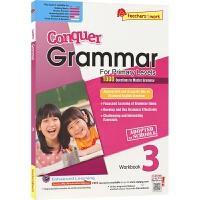 SAP Conquer Grammar Workbook 3 攻克系列小学三年级英语语法练习册 8-9岁 新加坡新亚出