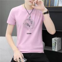 verhouse 短袖T恤男夏季新款修身青年百搭印花上衣舒适大码男装体恤衫