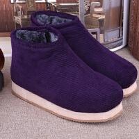 手工老棉鞋包跟加厚绒老人保暖轻盈 居家学生鞋办公室鞋