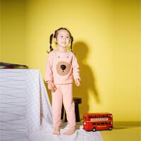 【2件2折价:39元】歌歌宝贝婴幼儿套装秋冬男女小童洋气秋季两件套儿童衣服加绒衣服