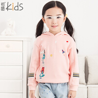 初语童装 冬装新款 女童卫衣 可爱套头卫衣 T5405210032