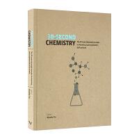 30秒读科普 化学 30 Second Chemistry 英文原版 英文版英语科普读物 进口原版书籍