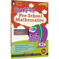SAP Conquer Pre-School Mathematics K2B 攻克系列学前数学 幼儿园大班教辅 练习册