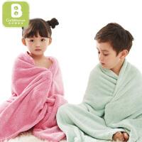【一件包邮】卡伴宝宝浴巾吸水婴儿洗澡巾超柔儿童毛巾毯子夏季盖被成人75*140