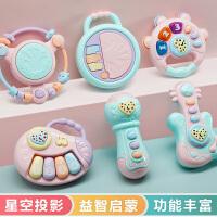 婴儿手摇铃玩具宝宝益智早教3个月婴幼儿0一1岁半抓握训练6月到12