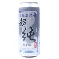 【包邮】金达莱超纯啤酒 500ml 8°P 1听