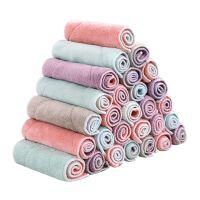 吸水洗碗布厨房清洁布毛巾加厚不沾擦油不掉毛抹布擦手巾 10条