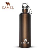 camel骆驼户外保温杯 600ML不锈钢便携水壶野营装备旅行品