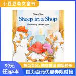 99选5 进口英文原版绘本 Sheep in a Shop 小羊逛商店 廖彩杏推荐书单 幽默有趣故事韵文平装 5-10