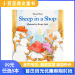 #小豆豆英文童书 Sheep in a Shop 小羊逛商店 英文原版绘本 廖彩杏推荐书单 幽默有趣故事韵文 开发想象