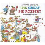 Richard Scarry's Great Pie Robbery and Other Mysteries 斯凯瑞图画故事书-馅饼大盗及其他神秘事件(超值精装大开本) ISBN 9781402758232